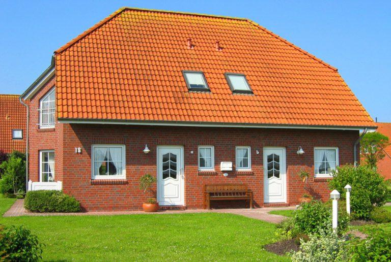Ferienhaus Friesenlandhaus Norddeich Hausansicht